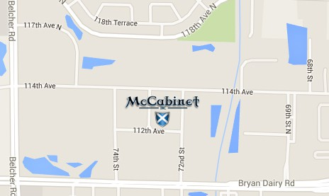 map of McCabinet's location