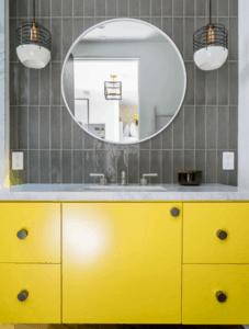 mccabinet yellow sink cabinet largo tampa florida