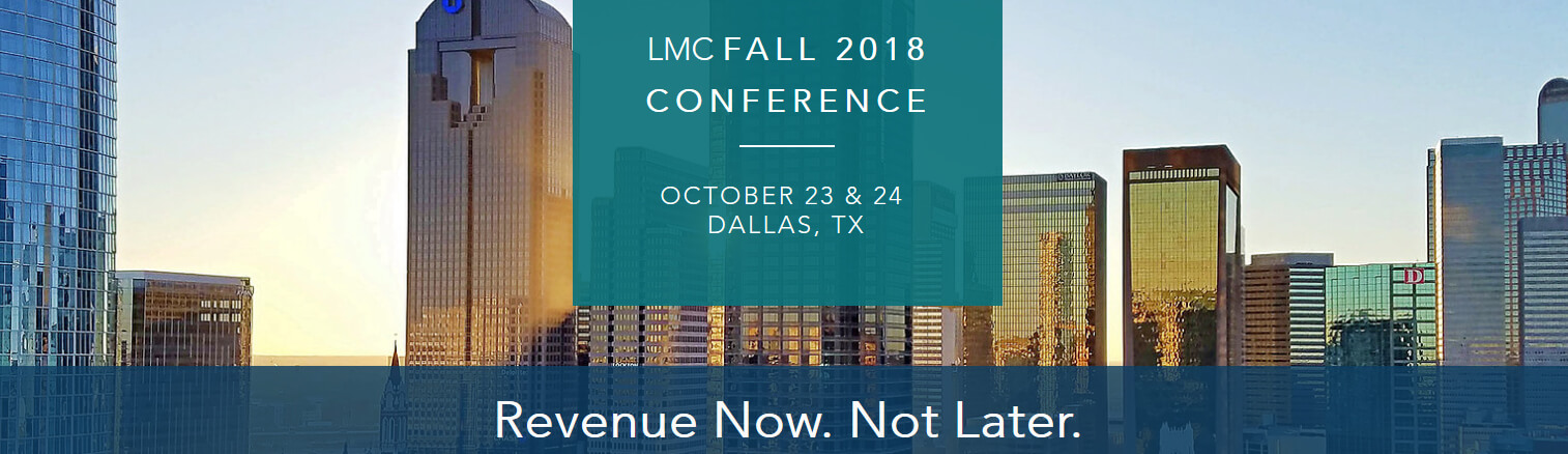 LMC Fall 2018 Revenue Now Not Later
