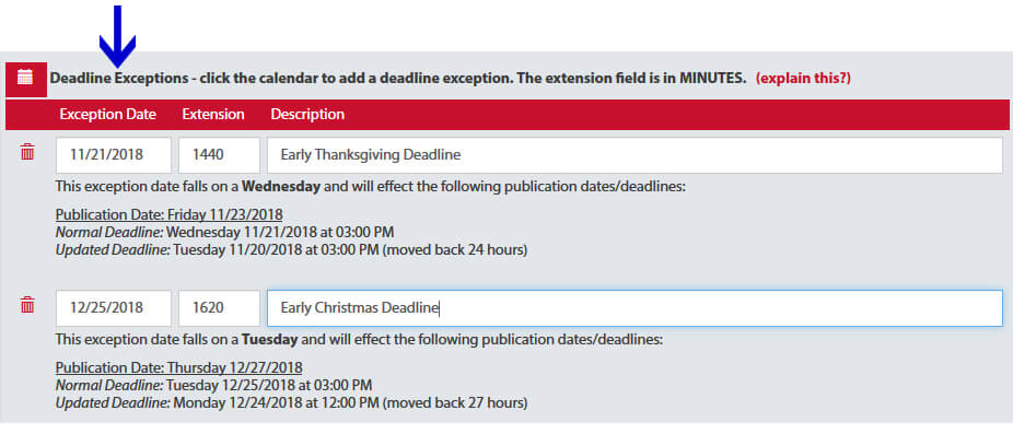 Adportal Early Deadline Screenshot