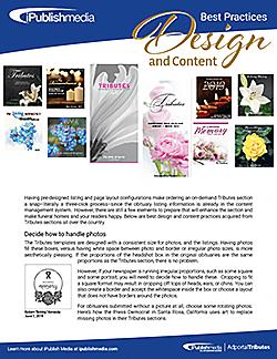 Tributes Design and Content Best Practices
