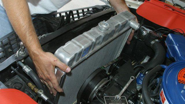 Installing Radiator