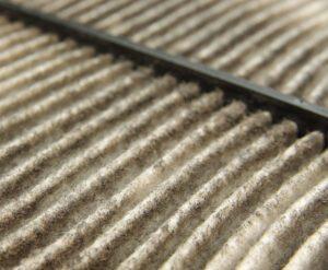 Paper Air Filter Close Up