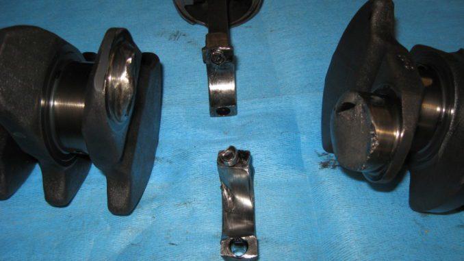 Broken Crankshaft Damage