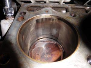 Damaged Cylinder Causing Rings To Leak