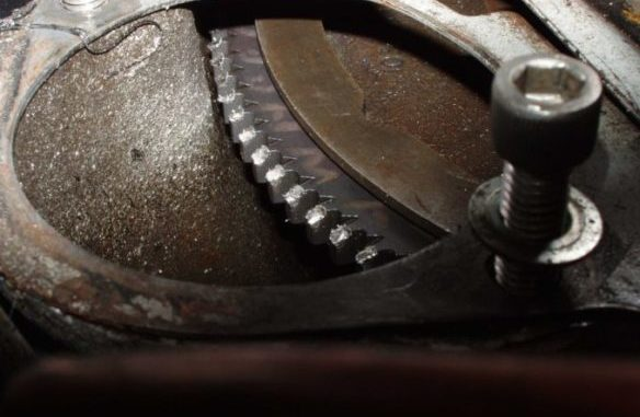 Damaged Ring Gear
