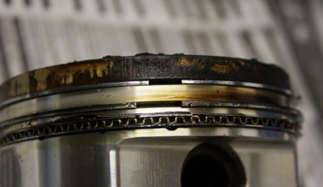 Damaged Piston Rings