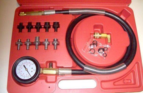 Master Oil Pressure Guage