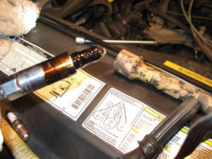 Oil leaking Onto Spark Plug