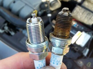 Compare Old Spark Plug To New One