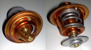 Overheating can often damage a good thermostat.