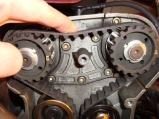 Timing Belt - Transfers The Rotation Of The Crankshaft To The Camshaft