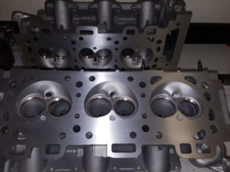 Cylinder Heads Getting Valve Job