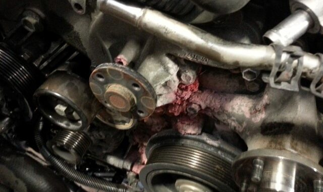 Signs Of Coolant Leaking