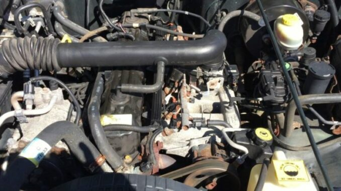 4 Liter Jeep Engine
