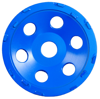 5in PCD Cup Wheel with 12 PCD