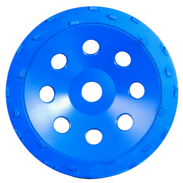 7in PCD Cup Wheel with 24 PCD