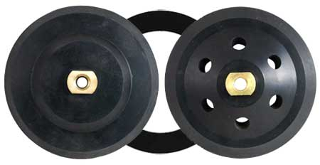 Backer Pads Available in Rigid, Flexible, Concave