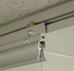 Data Center Curtains Easy Mounting Example