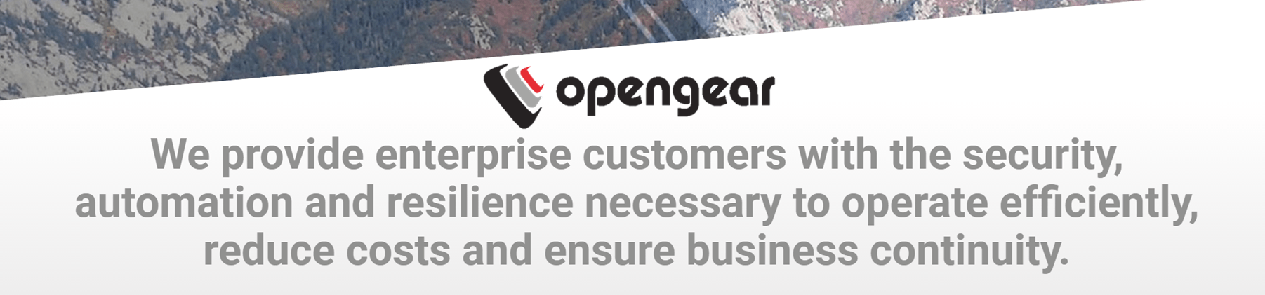 OpenGear 42u Solutions for the next generation data center