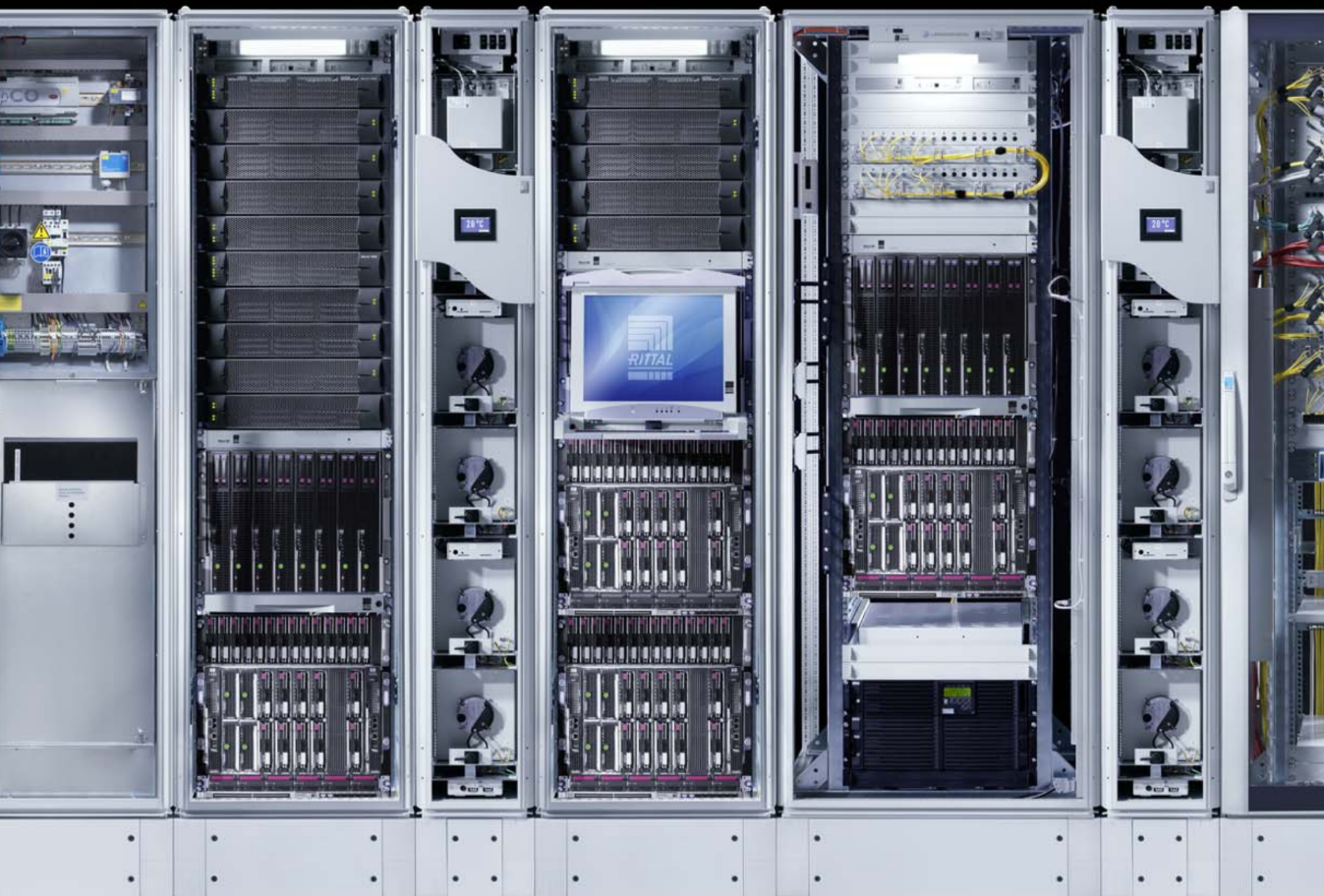 Rittal_micro data center_system