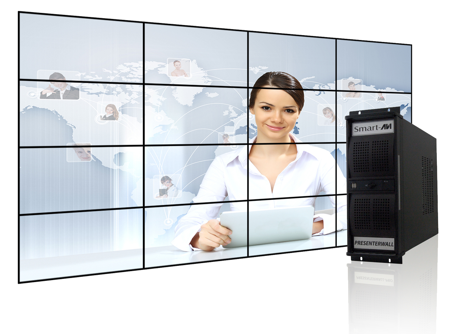SmartAVI Video Walls - 42U