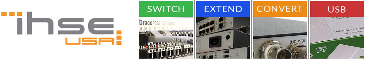 ihse header switch extend convert usb