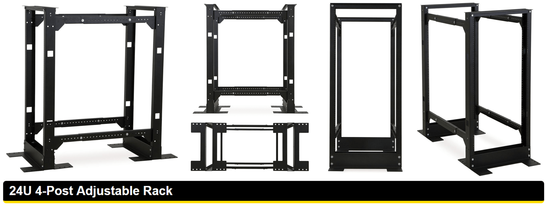 NEW 4-Post Adjustable Rack launched by Kendall Howard - 42U
