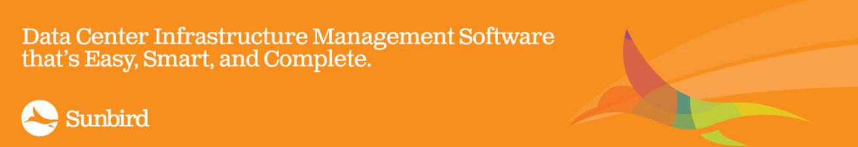 new-sunbird-banner data center infrastructure management software