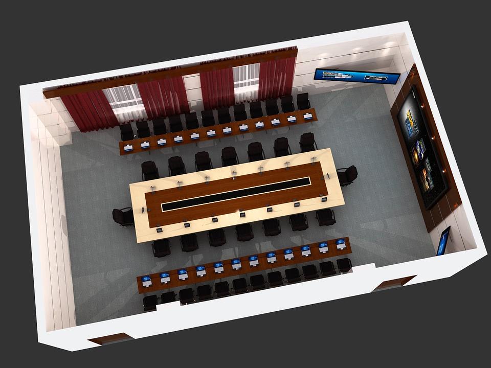 conference room kramer 42u data center solution