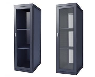 Plexiglass Doors vs Perforated Doors