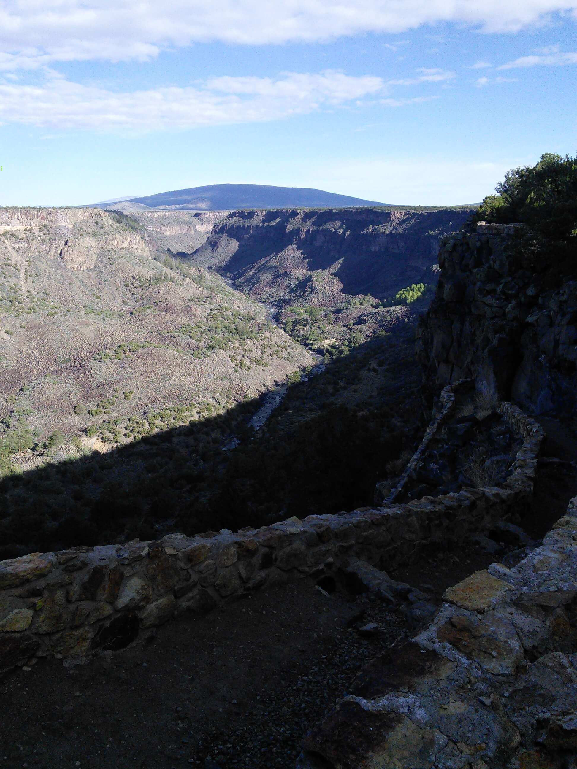 Path to Rio Grande river, Rio Grande Gorge, NM