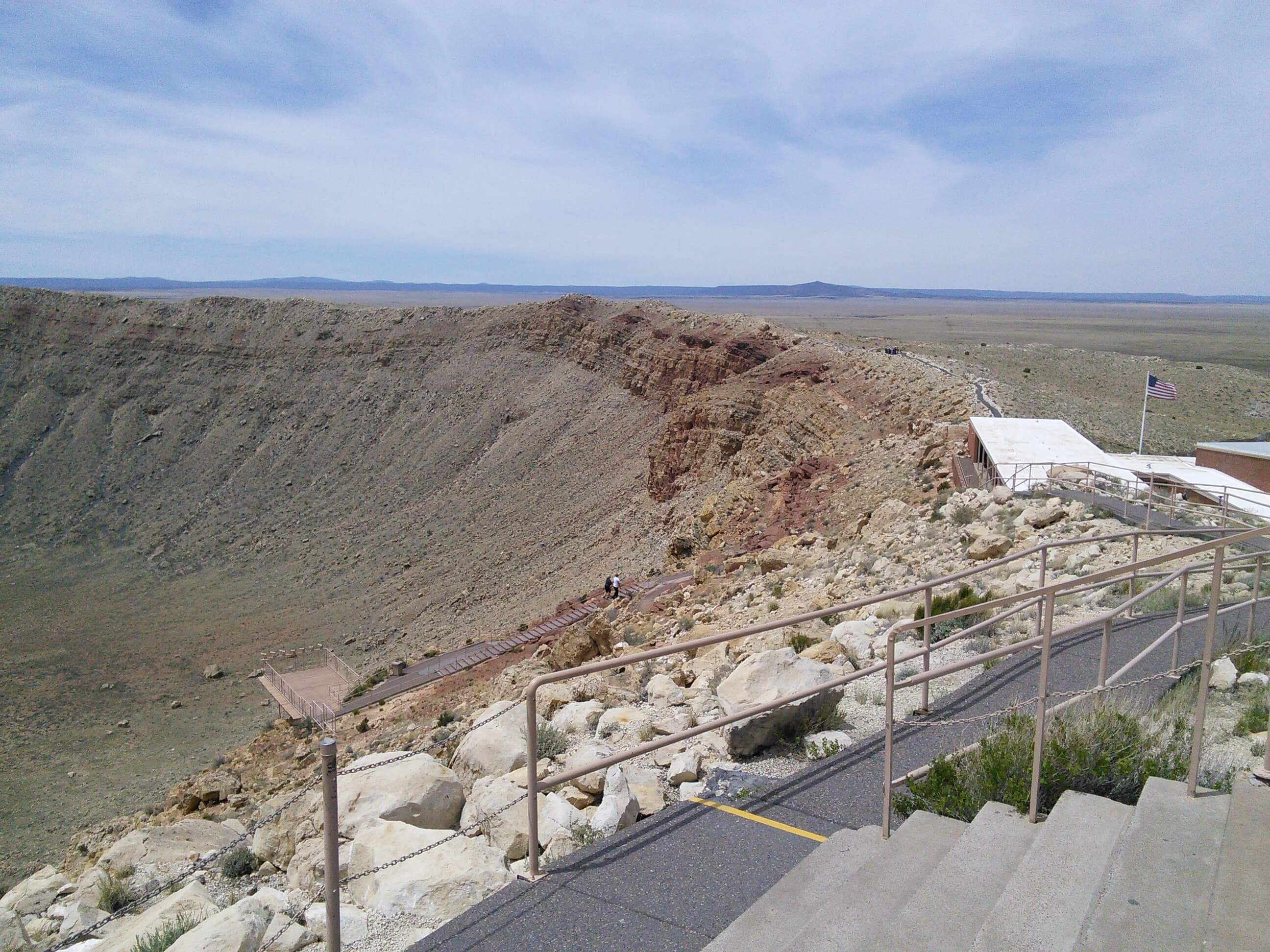 Barringer Meteor Crater, AZ