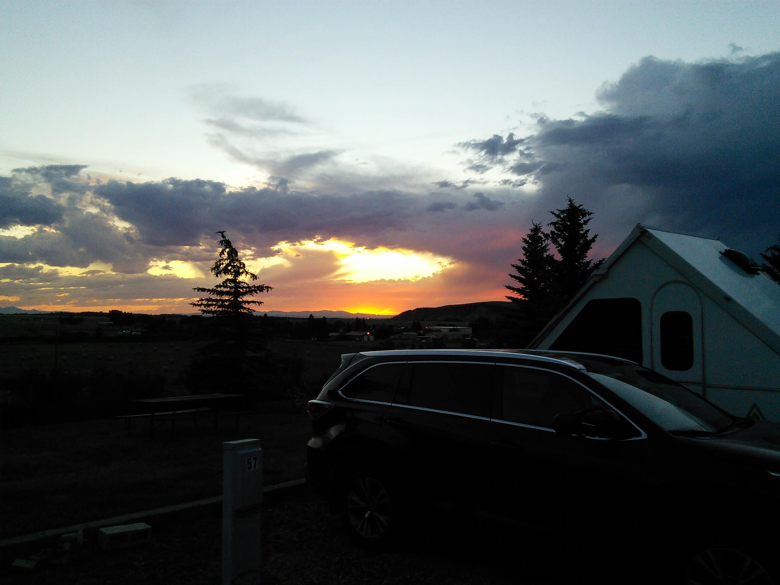 Sunset in Bozeman