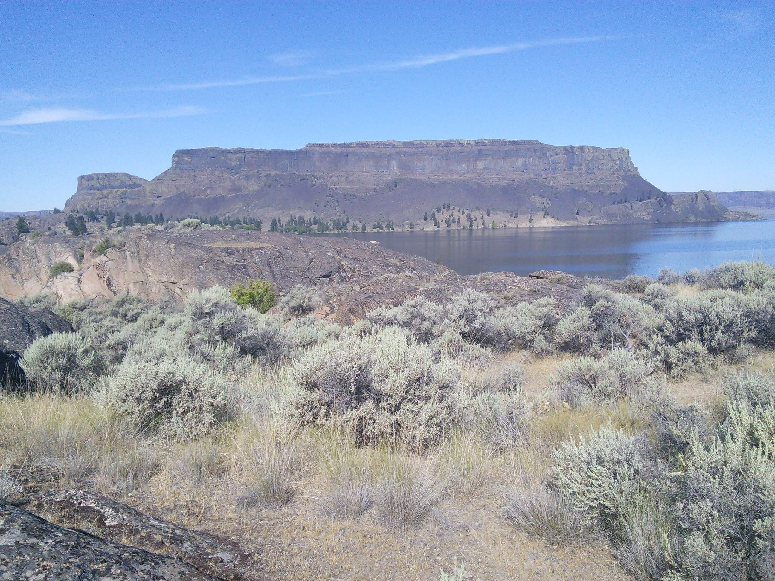 Steamboat Rock, Grand Coulee, Washington