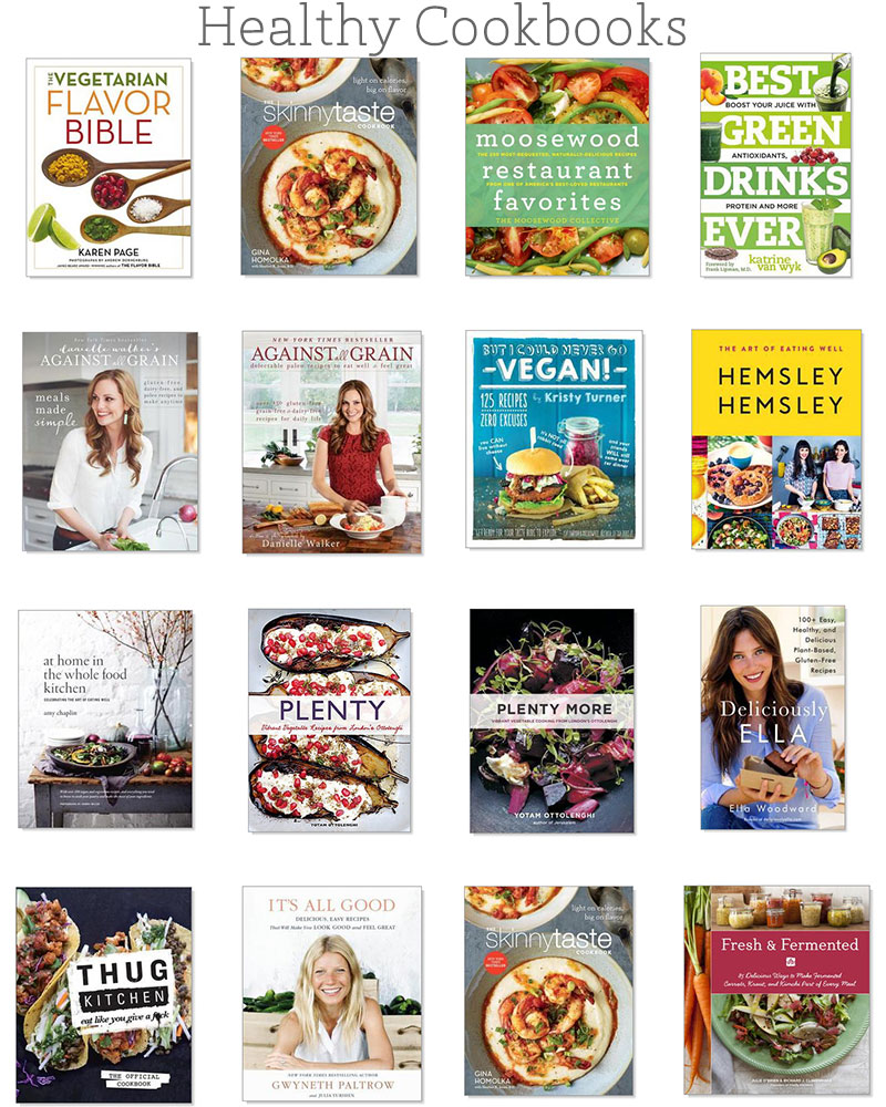 16 Healthy Cookbooks