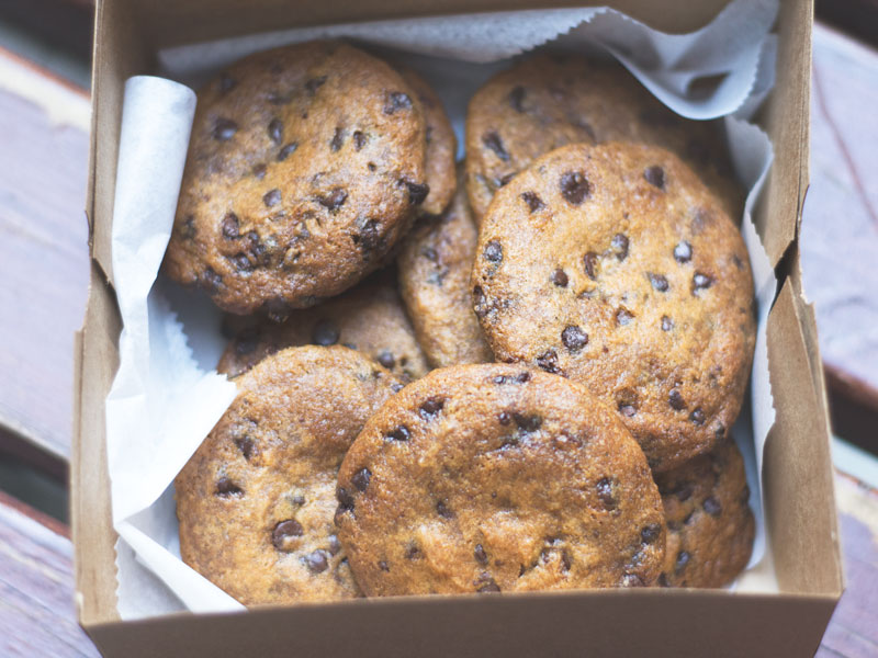 Chocolate Chip Cookies from Jennifer's Way Bakery