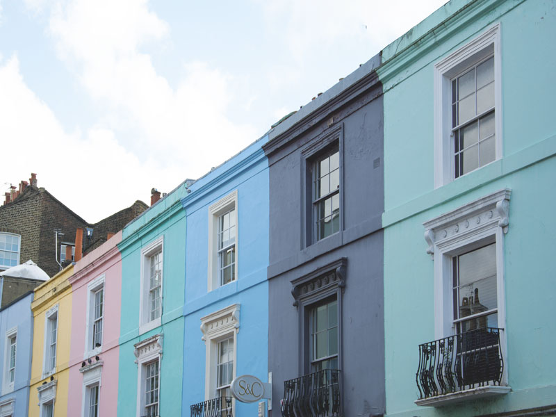 Pastels of Portobello Road