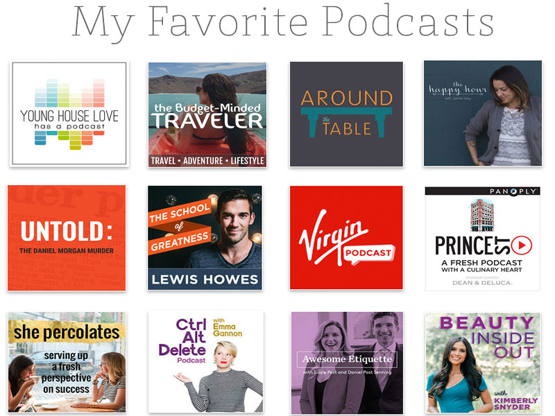 12 Awesome Podcasts