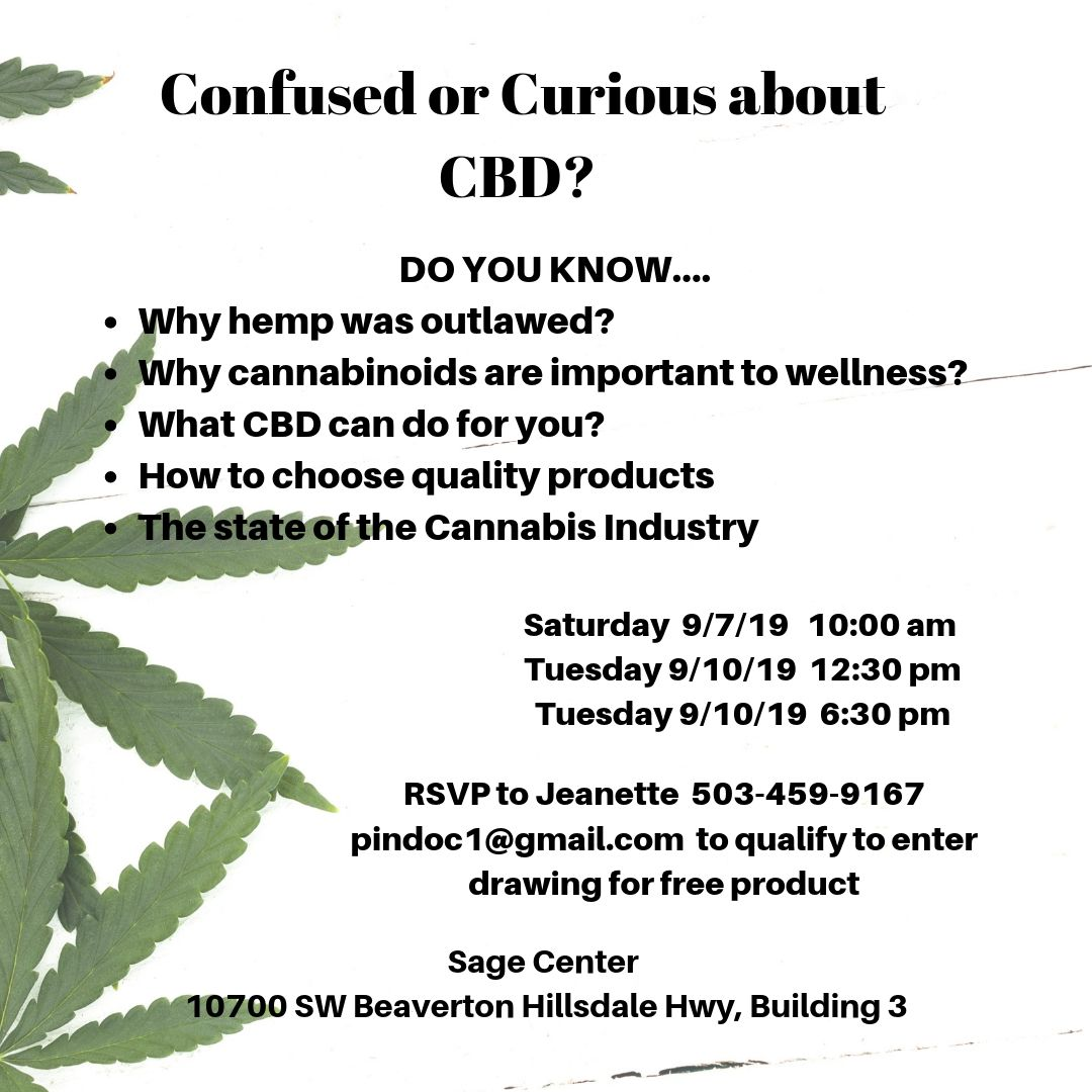 Confused or Curious about CBD?