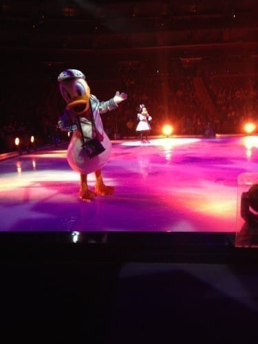 Donald Duck at Disney on Ice South FL