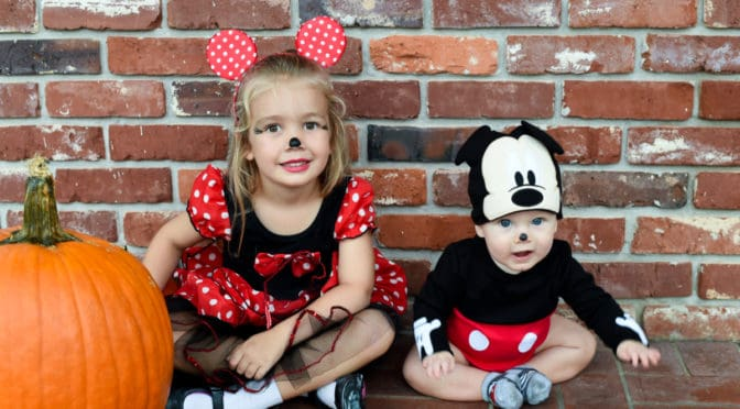 Mickey & Minnie Mouse Halloween Photoshoot by Sweet Memories Photography