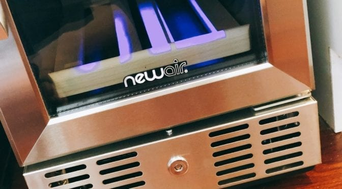 How a NewAir Wine Cooler Inspired Our Latest Boca Kitchen Project