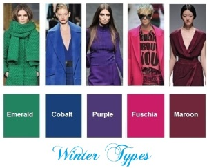 fashion-colors-for-Winter-types
