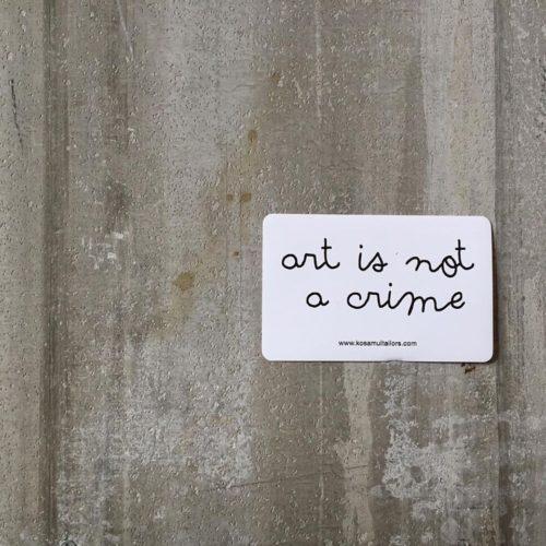 art-is-not-a-crime