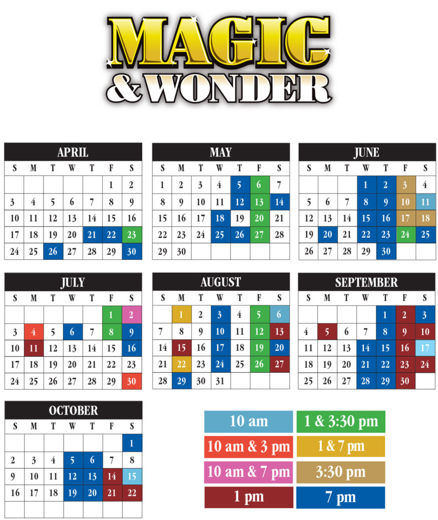 Magic & Wonder Calendar