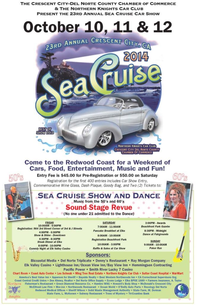 Poster for Sea Cruise in Crescent City