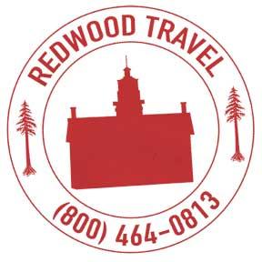Redwood Travel Logo