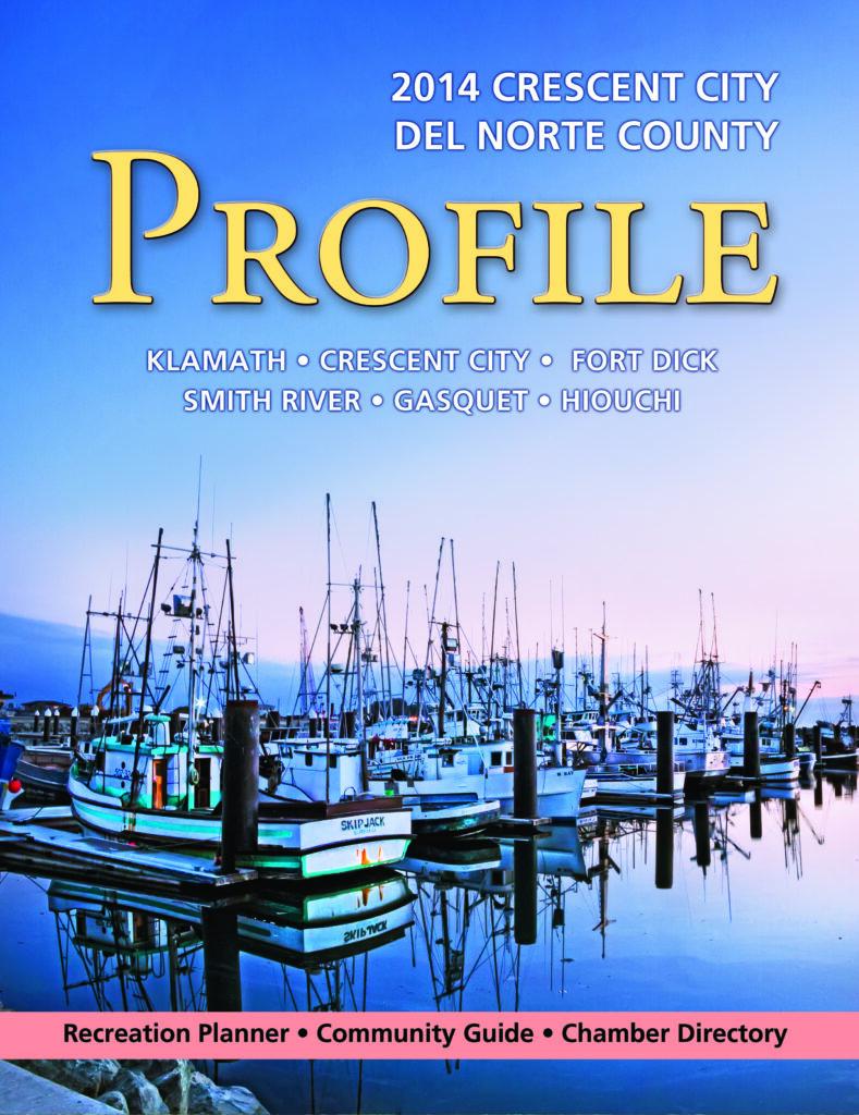 Crescent City-Del Norte County Chamber of Commerce Annual Profile Magazine Photograph 2014