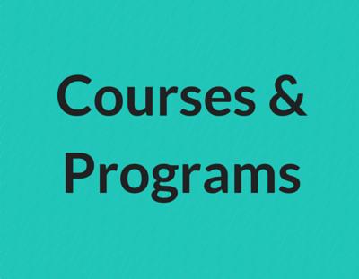 Courses & Programs